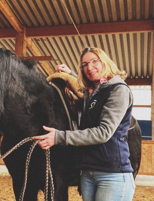Reitunterricht Westernreiten mit Verena Hoetter