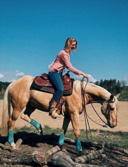 Trail Westernreiten Verena Hoetter